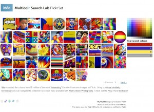 Flickr set created by Multicolr Search Lab